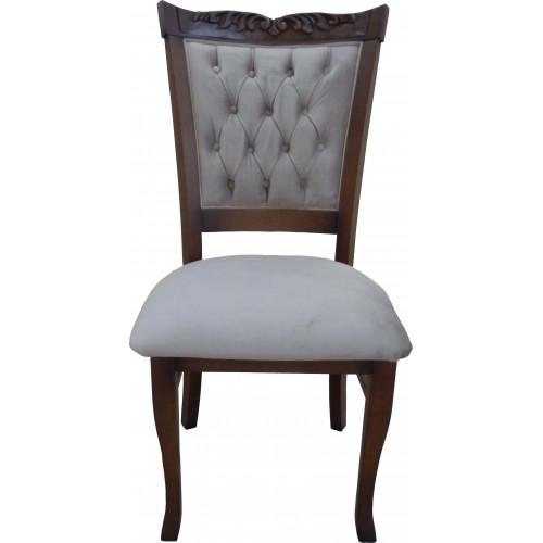 Cadeira Amadeus sem Braço - Encosto Capitone/Assento Almofada Fixa