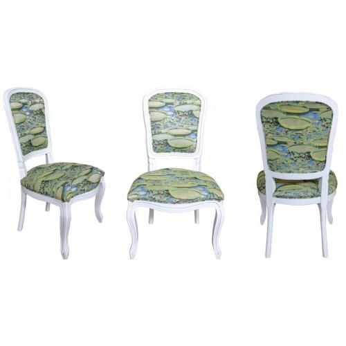 Cadeira Luis Felipe II sem Braço - Encosto Liso/Assento Fixo