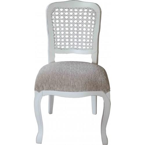 Cadeira Luis Felipe sem Braço - Encosto Tela/Assento Fixo
