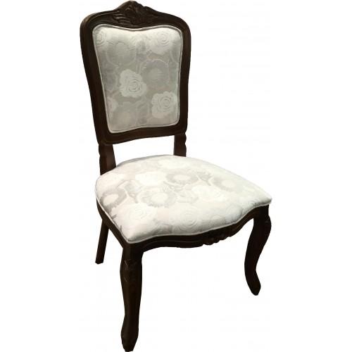 Cadeira Luis XV sem Braço - Encosto Liso/Assento Fixo