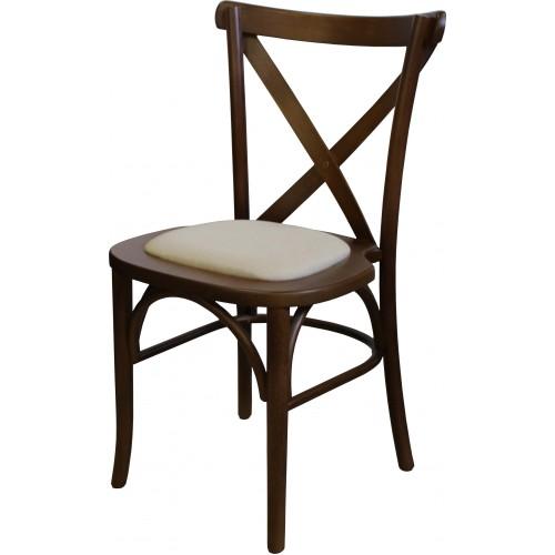 Cadeira Aretha - Almofada no Centro - Empilhável